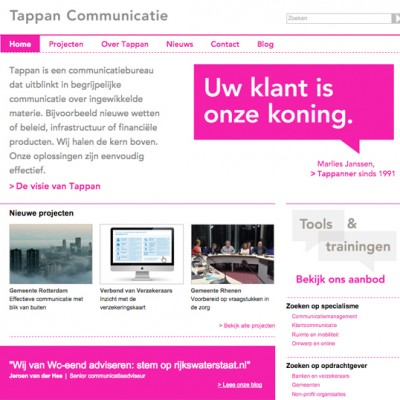 Tappan communicatie